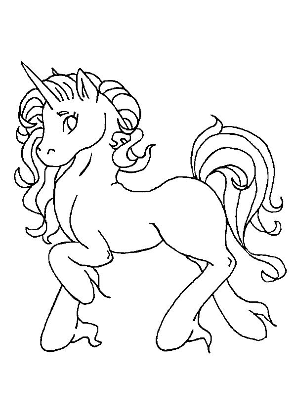 Top 25 Unicorn Coloring Pages For Toddlers And Kids