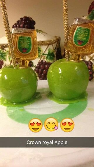 Sour Apple Crown Royal Green Candy Apples Candy Apples