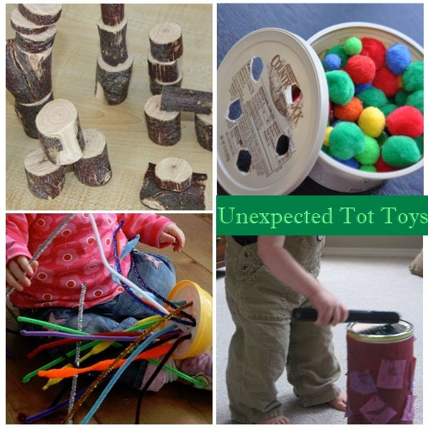 Activities for One Year Olds - unexpected toys {you know, like the box that the toy came in!}