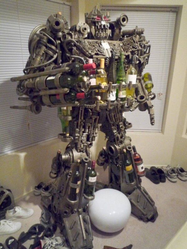Transformers WINE RACK?!?!