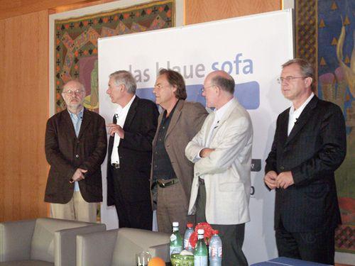 Jürgen Flimm, Hans Neuenfels, Peter Schneider, Norbert Lammert, Wolfgang Herles