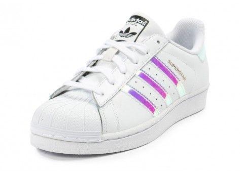 Chaussures adidas Superstar Irisée Junior vue avant