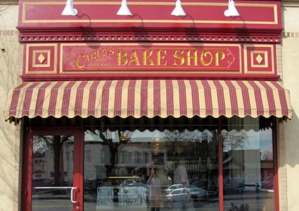 Carlo's Bakery Storefront. Where Buddy the Cake Boss works