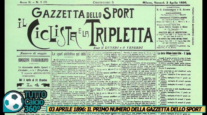 La Gazzetta fa 121: Le auguriamo di tornare solo allo Sport...