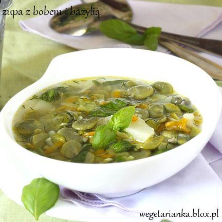 zupa z bobemKuchnia Wegetariańska, Od Wegetarianizmu, Porami Roku, Omnom Pl, Fancy Food, Czterema Porami