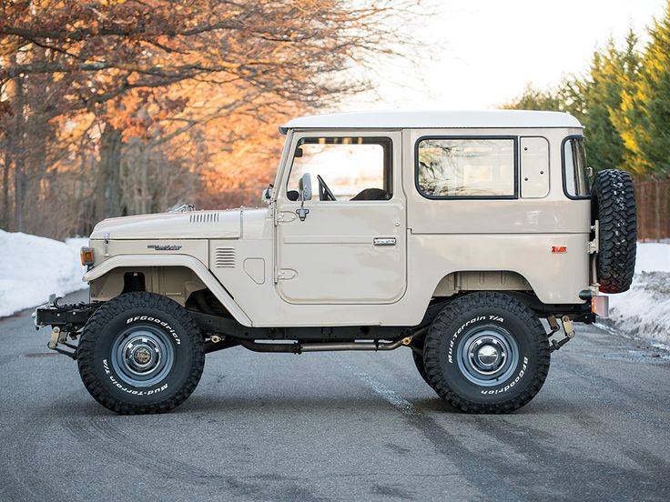 After the Willys MB Military Jeep, Land Rover entered the 4x4 game with the Series 1. Then came the Toyota FJ40 Land Cruiser, a macho off-roader that can talk the talk and walk the walk. A pristine example of this breed is heading to auction, and from the looks of it, collectors are sure to go to great lengths to acquire this machine.