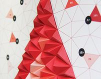 Consulter ce projet @Behance : « Pattern Matters: Tangible Paper Infographic » https://www.behance.net/gallery/3411991/Pattern-Matters-Tangible-Paper-Infographic