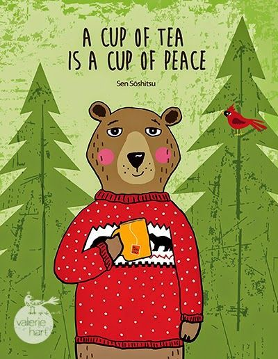 A cup of tea is a cup of peace, indeed!