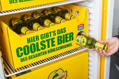 Beer slide for your fridge :)