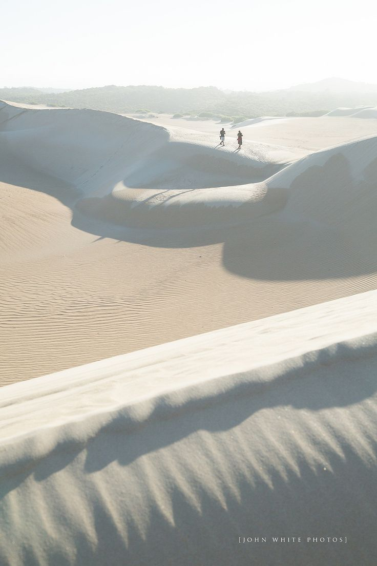 Sand dunes in Coffin Bay on de Eyre Peninsula in South Australia