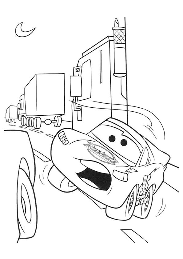 104 best Disney Cars Coloring Pages Disney images on Pinterest