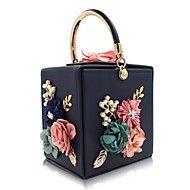 L.west χειροποίητα γυναικεία χειροποίητα beaded λουλούδι που τσάντα συσκευασίας τσάντα auger κουτί