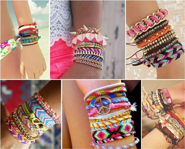 Cool String Bracelets – Practical Ideas How to Make Them - Find Fun Art Projects to Do at Home and Arts and Crafts Ideas