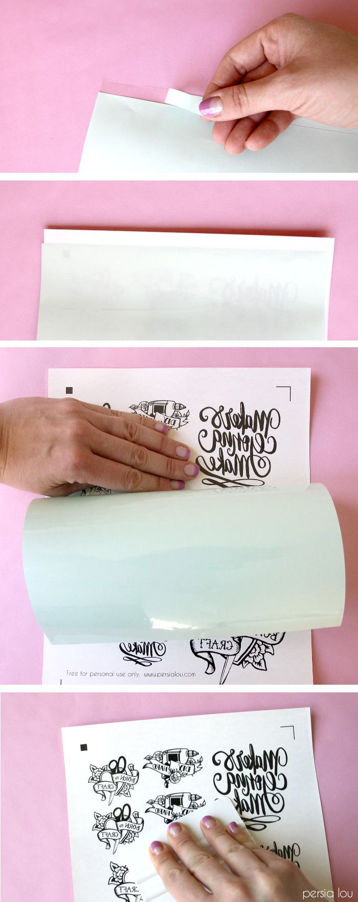how to make your own temporary tattoos - with free download