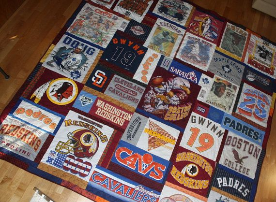 8 best T-shirt Quilts images on Pinterest | Black, Blanket sizes ... : order t shirt quilt - Adamdwight.com