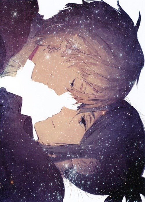 . . . . reminds me of the story of the milky way... two angels, lovers, were separated, but once every year, they could see each other, crossing over the Milky Way.  There's the stars . . . .