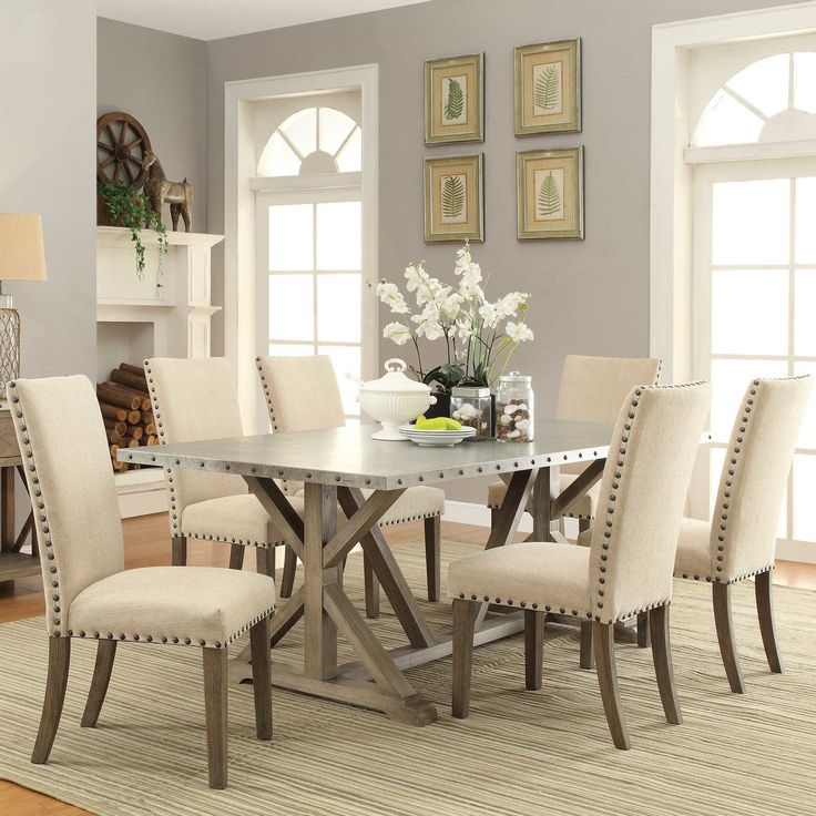DINING // Wildon Home ® Dining Table