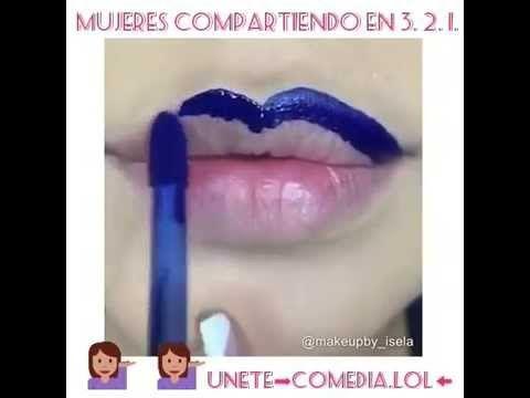 Labios Azules♥ - YouTube