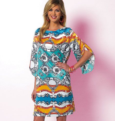 B5815, Misses' Top, Tunic and Dress