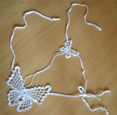 Sexy crochet butterfly bikini G-string all sizes - Media - Crochet Me
