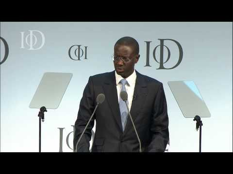 Tidjane Thiam at the IoD Annual Convention 2013 - YouTube