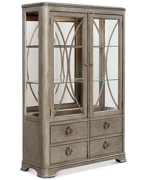 Furniture Kelly Ripa Home Hayley China Cabinet & Reviews ...