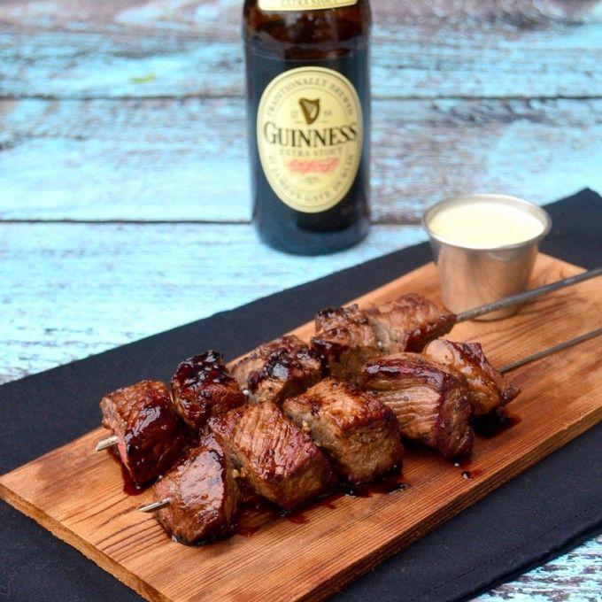 ... Steak Skewers on Pinterest | Skewers, Steaks and Bacon Wrapped Steak