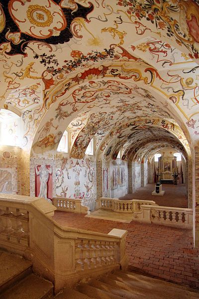 "The so-called ""crypt"" at Stift Altenburg in Austria. Photo by C. Cossa."
