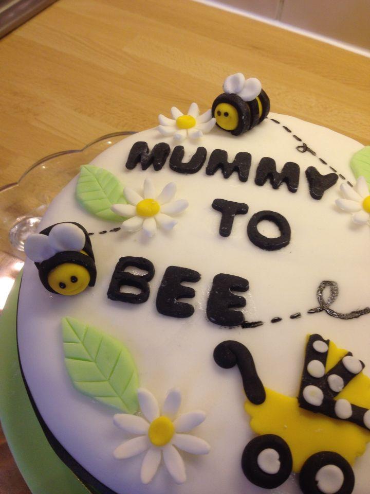 Baby Shower Bee cake