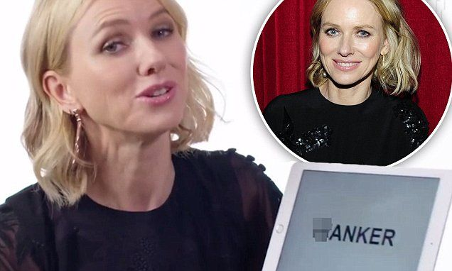 Naomi Watts hilariously explains the meaning of w***er