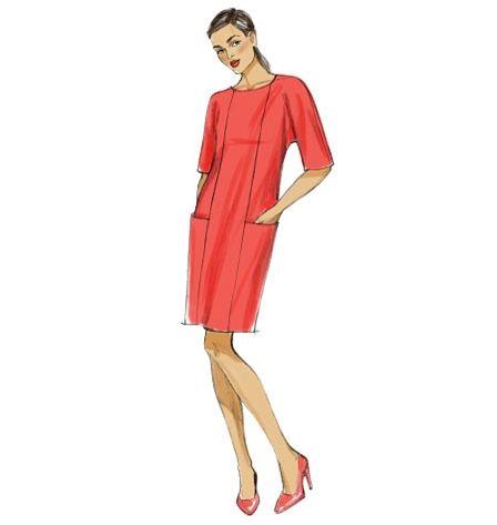 Patron de robe - Vogue 9022