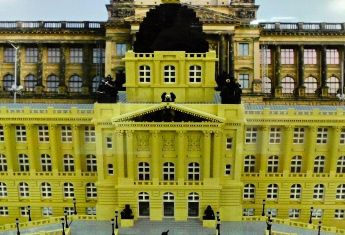 """Museum of Bricks Prague The museum does not only have the most exhibits in the Czech Republic but in the whole world. It is specialized in history of this unique building kit, which was proudly honored """"the toy of the century"""". On the surface of 340 m2 you can see more than than 2500 models divided in 20 theme parts. More than 1 000 000 bricks were used.#prague#child#family#czech#fun#child-friendly#holiday#museum"""
