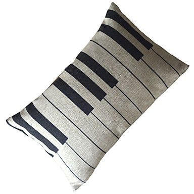 Music Dream Cotton/Linen Decorative Pillow Cover - USD $ 12.99 OMG I used to have a pillow like this but it got old and started looking gross and I was so sad I had to get rid of it