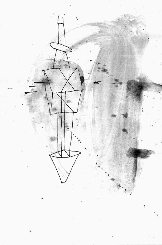 Csaba Pál, drawing 02, A/5