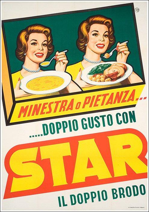 Doppio brodo Starmanifesto #vintage #original #poster www.posterimage.it