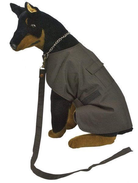 6510 Oiled Cotton Dog Coat by Jacaru. Fully Lined.