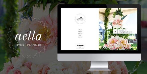 aella psd template for event planners psd aella template