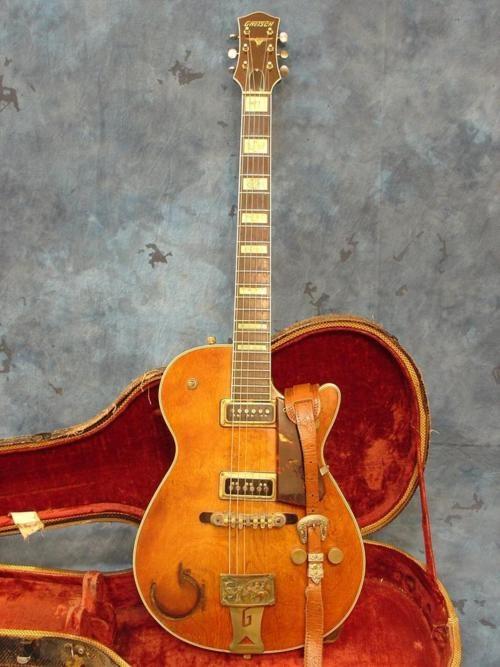 .: 1955 Gretsch, Gretsch Roundup, String, Musical Instruments, Guitar, Archtop Guitars, Vintage Guitars