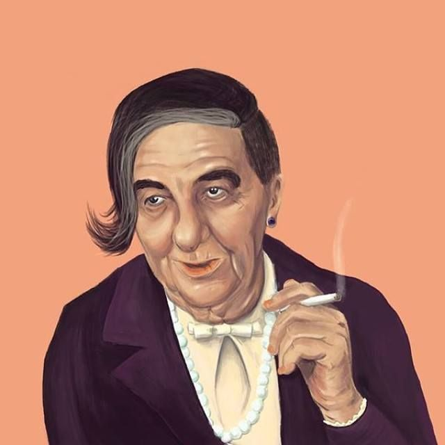 Golda Meir  This Creative Artist Re-Imaged 18 World Leaders As Hipsters • Page 3 of 5 • BoredBug