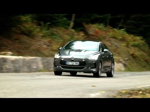 Citroën DS5 video roadtest (English subtitled)