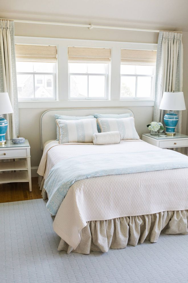 Serene Blue And Cream Bedroom