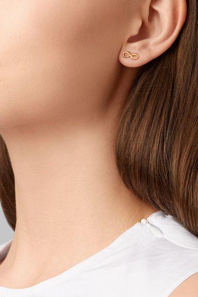 33da90067 Tiffany & Co. | Infinity 18-karat rose gold earrings | NET-A-PORTER.COM