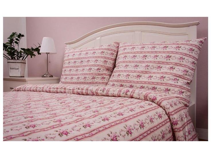 """Bavlněný přehoz na postel MOZART RŮŽOVÝ . Krásný romantický bavlněný přehoz, běžně dostupný ve dvou rozměrech, který je možný kombinovat s povlečením ve stejném dekoru a různými tvary polštářků - viz. """"Související produkty"""". Je také..."""