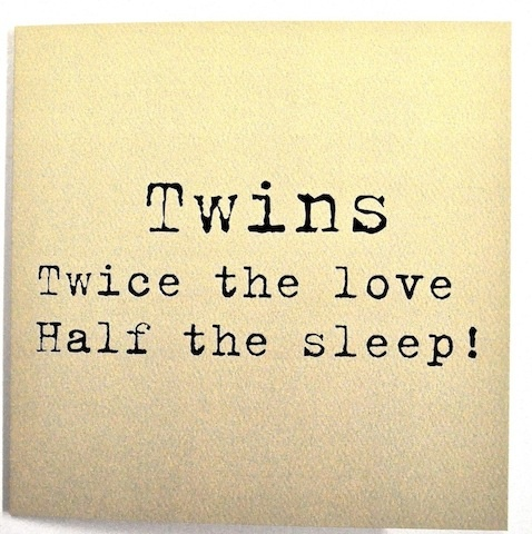 £2.99 www.twinsgiftcompany.co.uk  a large selection of #cards for twins, triplets & their families