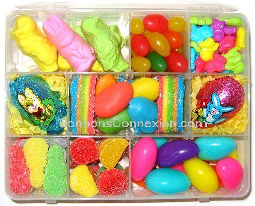 76 best easter baskets cadeaux pques images on pinterest net easter candy kit boitier gourmet de pques eastercandykit boitiergourmetpaques negle Images