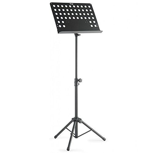 From 16.50:Stagg Mus-c5 T Orchestral Music Stand - Black
