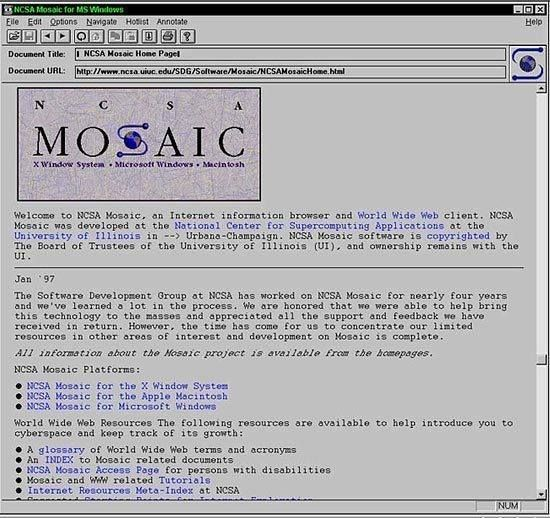 Mosaic adalah web browser popular pertama yang dirilis pada tahun 1993 #meja #kursi #lemari #computer #kantor #peralatankantor #mediainovasisemarang http://ift.tt/2gMCROe