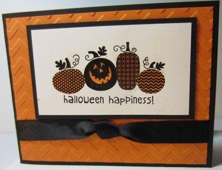Handmade Halloween Card by LGArtCardsnCreations on Etsy