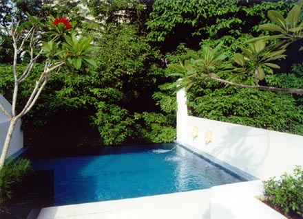 This is a rooftop plunge pool on a converted shophouse for 2 mid america plaza oakbrook terrace