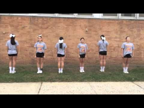 Woodland Middle School Cheers - YouTube